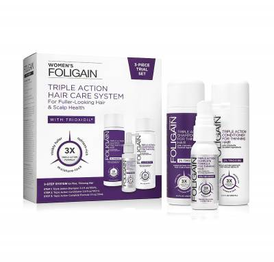 Foligain® Triple Action Hair Care System (Για γυναίκες )